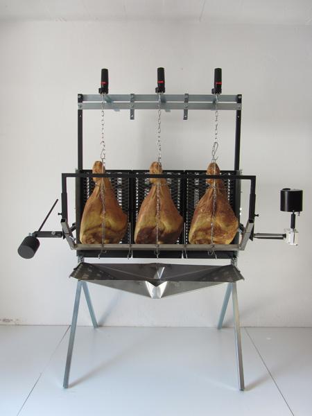 barbecue vertical pour cochon